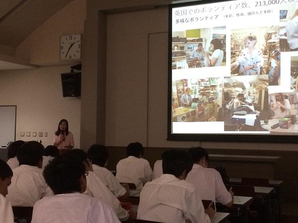 三木高校 講義写真3